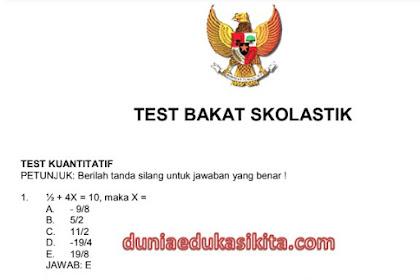 Download 43 Jenis Soal Latihan Seleksi CPNS Tahun 2018 Serta Kunci Jawaban