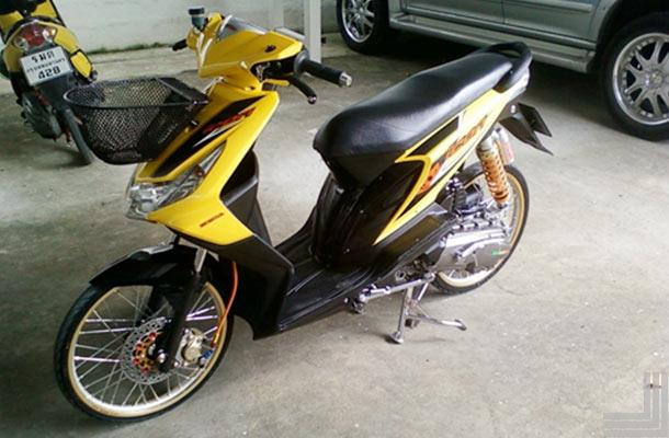 20 Gambar Modifikasi Motor Honda Beat Standar  Kumpulan