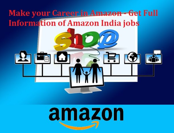 Make your Career in Amazon - Get Full Information of Amazon India jobs