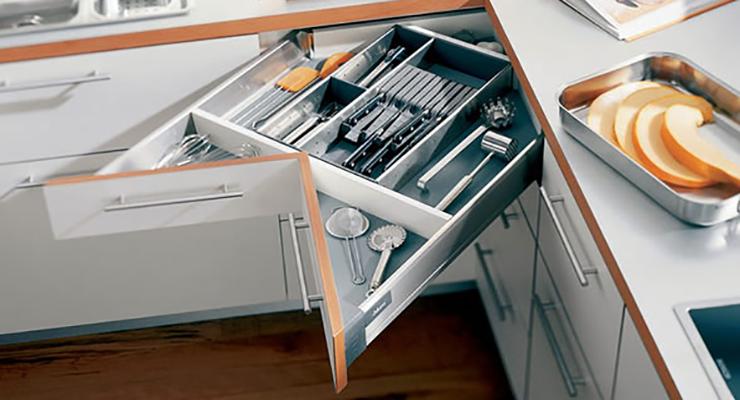 Dwell Of Decor Creative Corner Cabinet For Organizer Kitchen - Corner kitchen cabinet