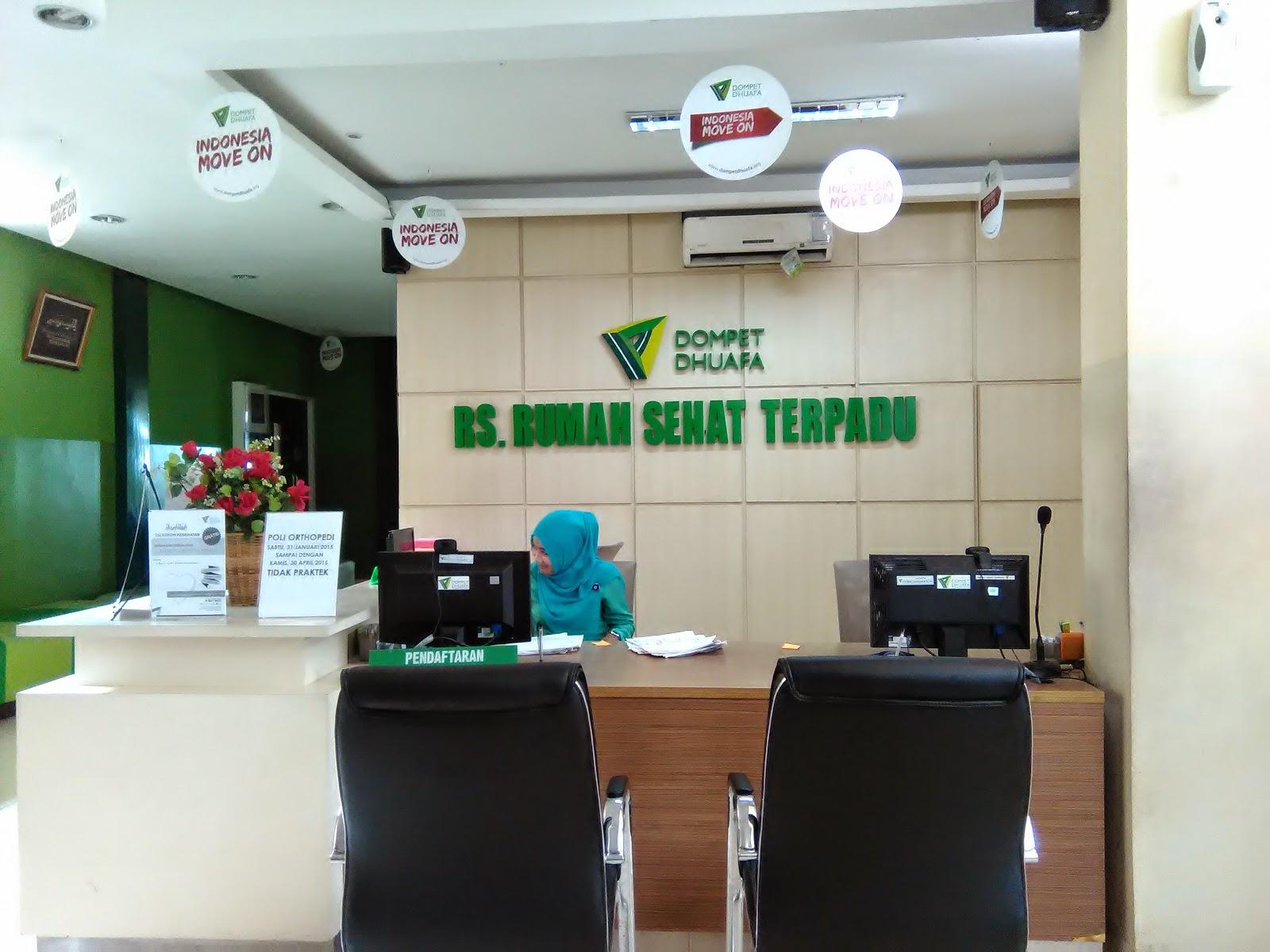 Rumah Sakit Rumah Sehat Terpadu Dompet Dhuafa 1 Dompet Dhuafa