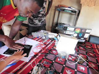 A makerspace - Ouagalab, Burkina