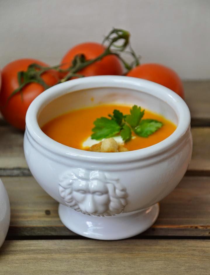 tomatensuppe rezepte mit frischen tomaten