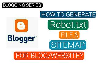 Robot.txt and Sitemap