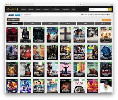Indoxxi WordPress Movies Website Theme V-1.0.6