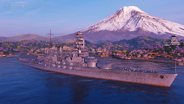 world of warships Nagato