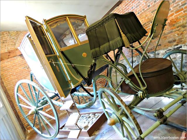 Carruaje John Brown's Chariot en Providence, Rhode Island