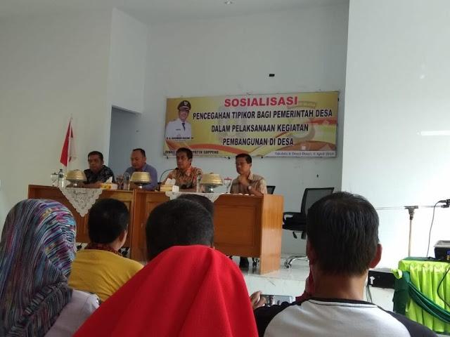 Pemdes Soppeng Sosialisasikan Pencegahan Tipikor Tingkat Desa