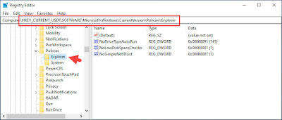 Menyembunyikan Halaman Tertentu pada Settings Windows 10
