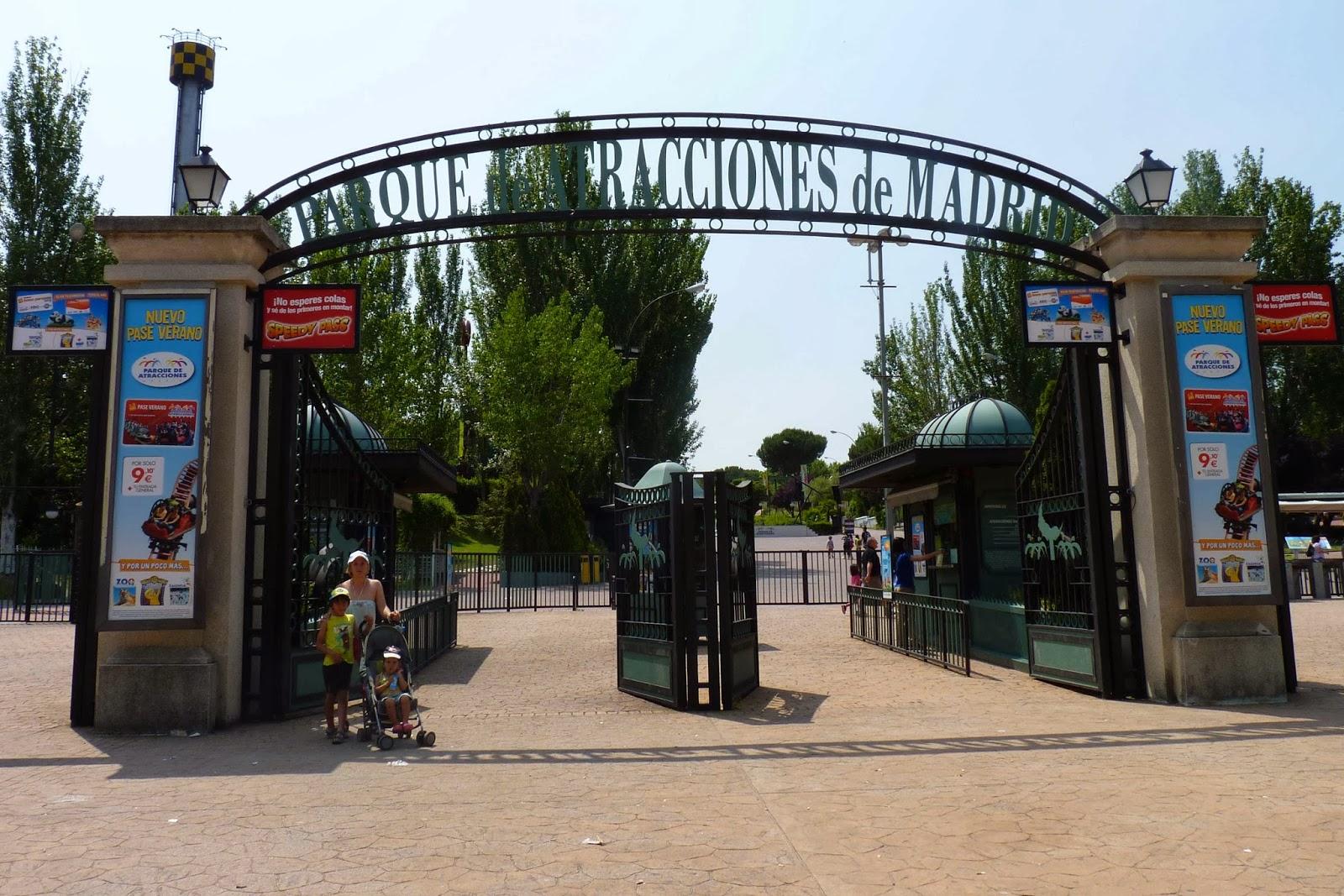 Parque de Atracciones de Madrid.