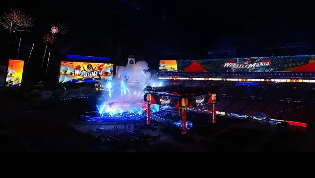 WWE revela a stage da WrestleMania 37
