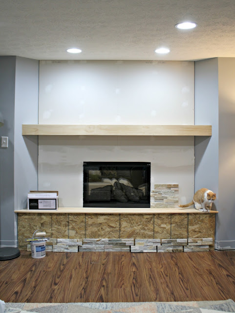 building a basement fireplace