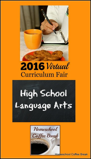 "High School Language Arts in the 2016 Virtual Curriculum Fair on Homeschool Coffee Break @ kympossibleblog.blogspot.com - Join me and fellow homeschool bloggers as we discuss ""Playing with Words"" in this week's Virtual Curriculum Fair"
