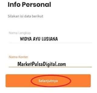 Nama id anda Konter atau agen Market pulsa