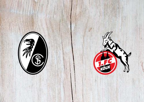 Freiburg vs Köln -Highlights 09 January 2021