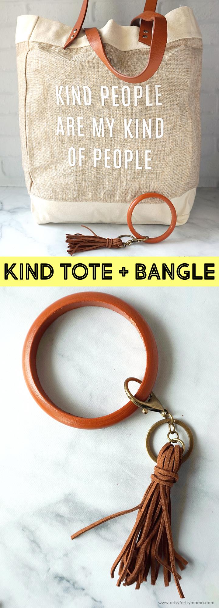 Kind Tote & Bangle