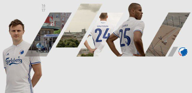 FCコペンハーゲン 16-17 新ユニフォーム