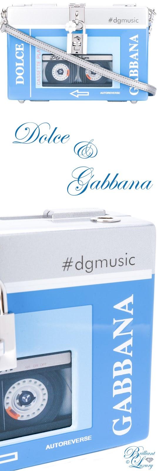 Brilliant Luxury ♦ Dolce & Gabbana Dolce Box Walkman Clutch