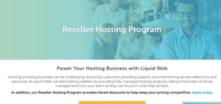 LiquidWeb Reseller Hosting