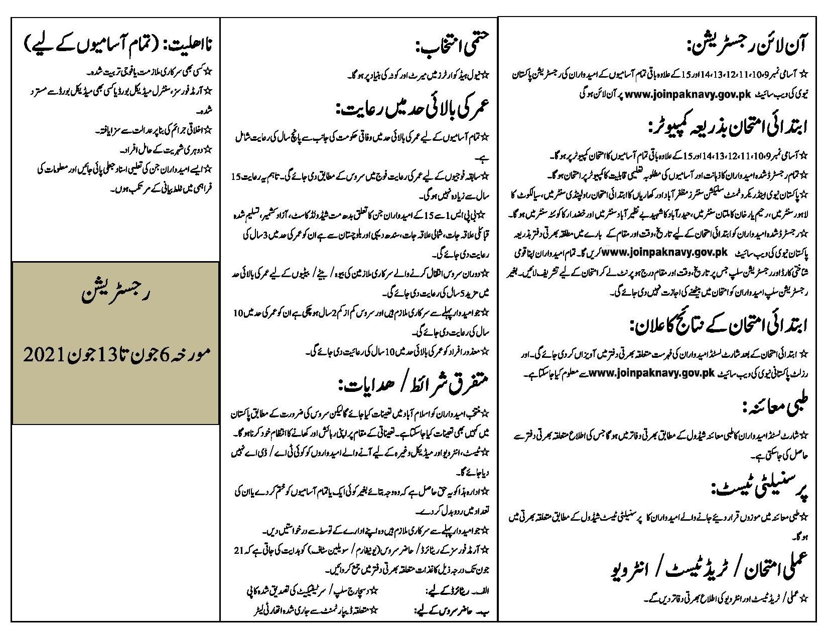 Join Pakistan Navy As Civilian Jobs 2021 II Pak Navy Civilian Jobs 2021 for Male & Female