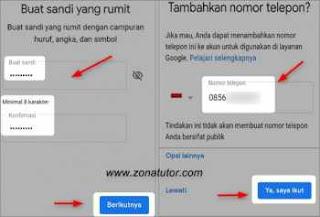 Cara Daftar Gmail Baru Lewat Hp Android