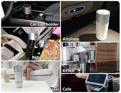 Clair B compact air purifier
