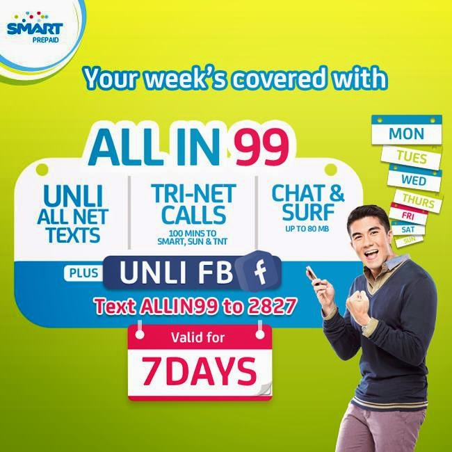Smart Prepaid All In 99 Valid for 7 Days