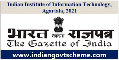 Indian Institute of Information Technology, Agartala, 2021