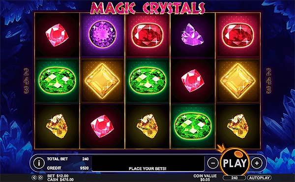 Main Gratis Slot Indonesia - Magic Crystals (Pragmatic Play)