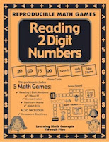 Identifying and reading 2 digit numbers is an essential skill for young learners. With this 25-page math game packet you can develop this skill in your students. Watch as your students learn to effortlessly read numbers 2 digit numbers in standard, word form and written form.  This package includes 5 Math Games: ✔ Reading 2 Digit Numbers ✔ I Have It! ✔ Concentration ✔ Flashcard Mania ✔ Match It Up  ALSO INCLUDED: ✔ Homework Black lines  This game package includes black line masters for: •Game board •Game cards (written form) •Game cards (numerals) •Assessment •Homework sheets •Quick game assembly •Teacher friendly game instructions