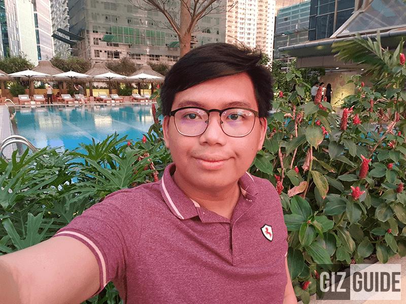 Selfie daylight