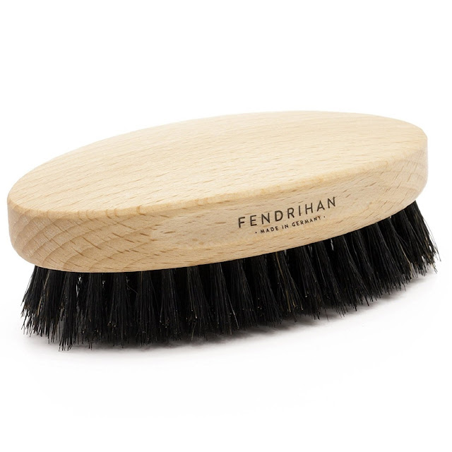 Fendrihan Boar Bristle & Beech Wood Military Hair Brush medium soft