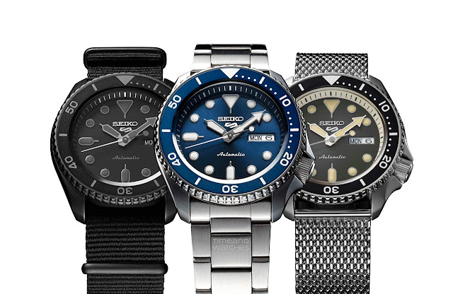 The new Seiko 5 Sports Collection