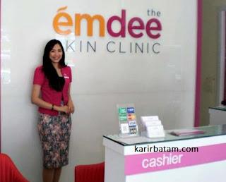 Lowongan Kerja The Emdee Skin Clinic Batam
