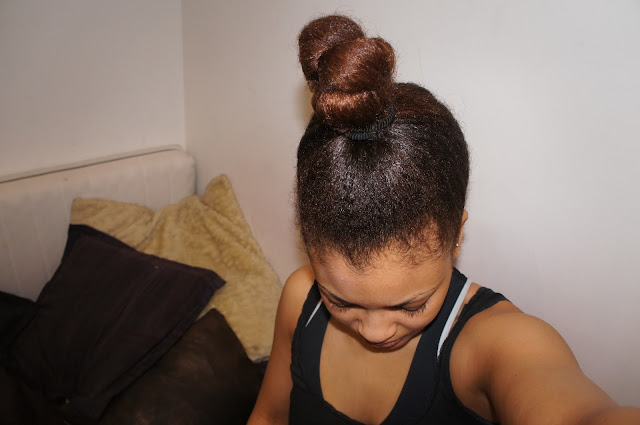 Strengthening Henna Treatment for Natural Afro and Curly hair