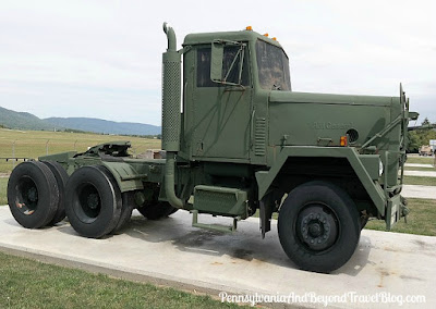 Military Line Haul Tractor Truck Fort Indiantown Gap Pennsylvania