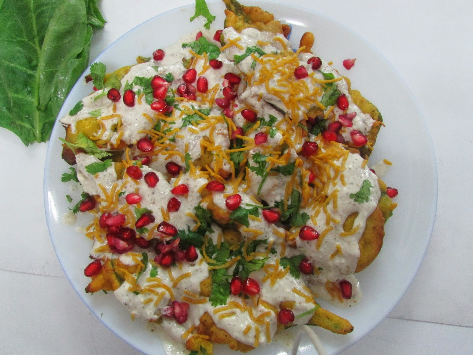 SPINACH CHAAT