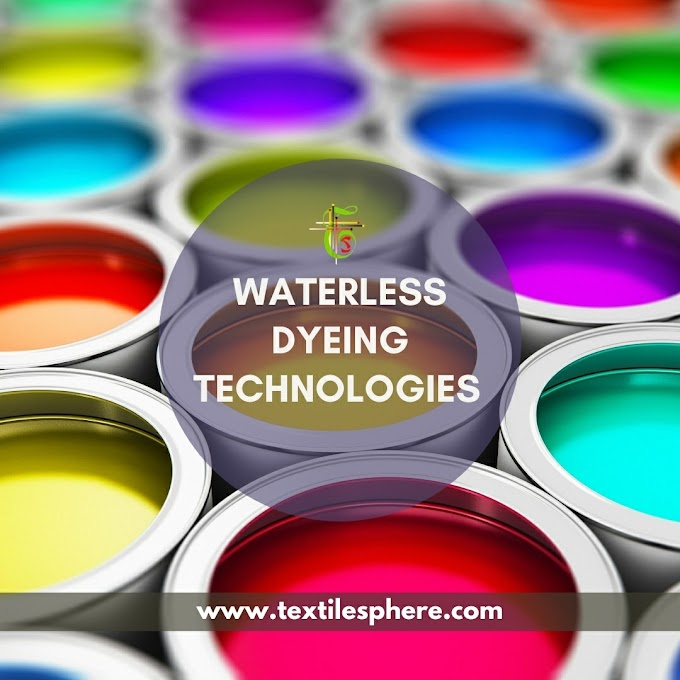 Waterless Dyeing Techniques