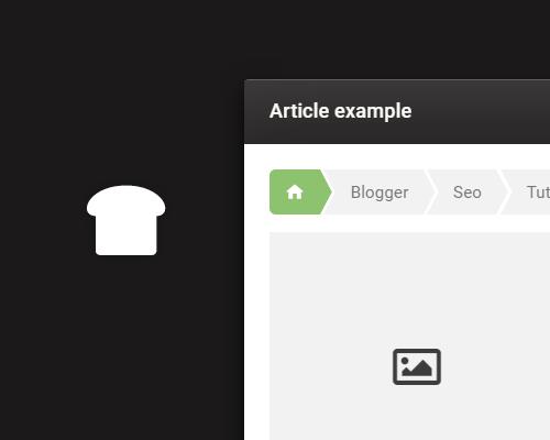 Como agregar migas de pan en Blogger