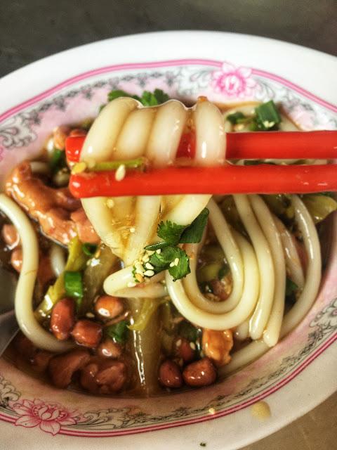 Thai-Hainan Noodles in Bangkok, Thailand