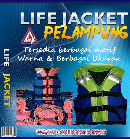 jual life jacket pelampung