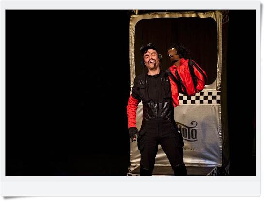 El Capitán Zero con Michael Jackson