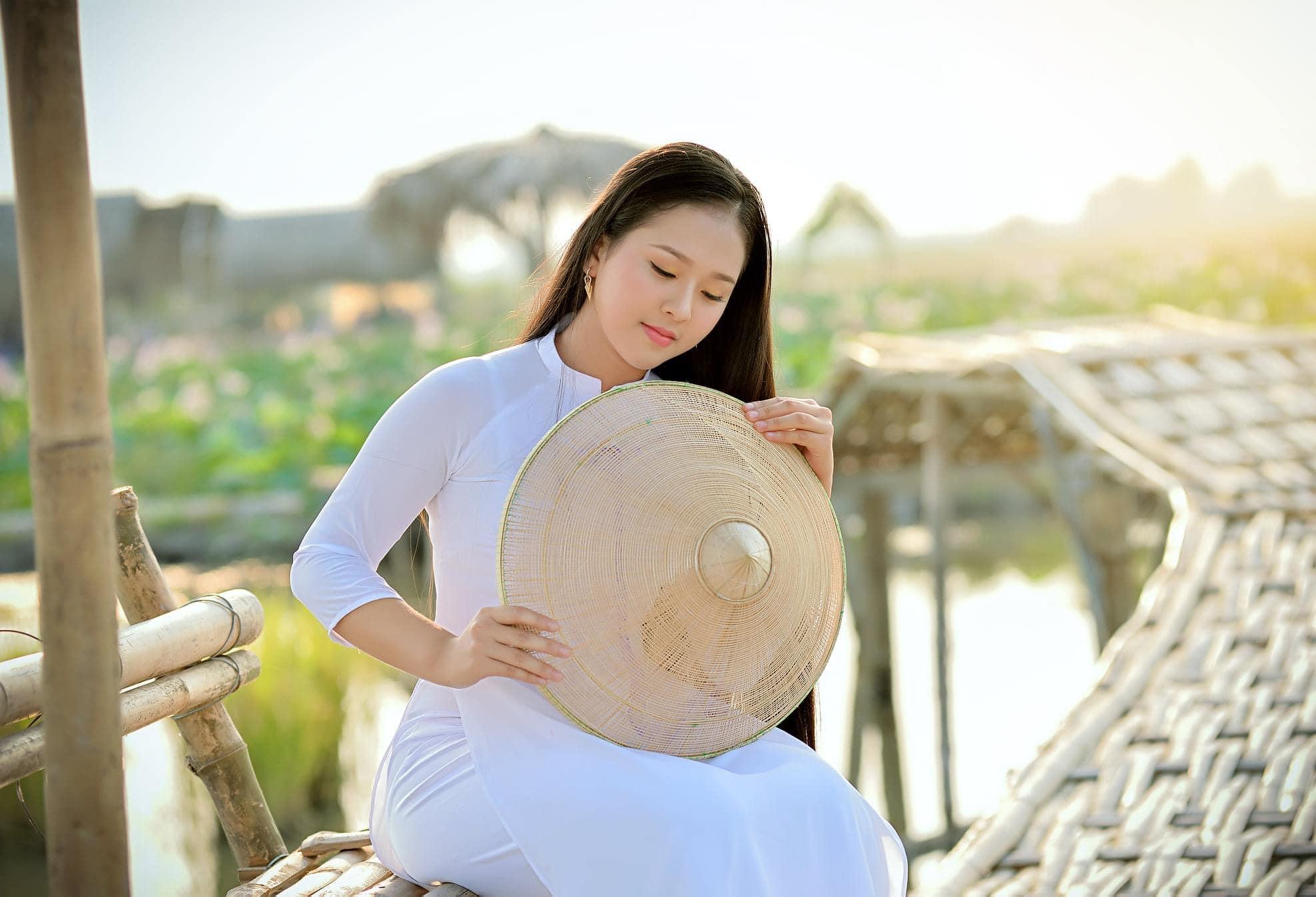 Tuyển tập girl xinh gái đẹp Việt Nam mặc áo dài đẹp mê hồn #57 - 21