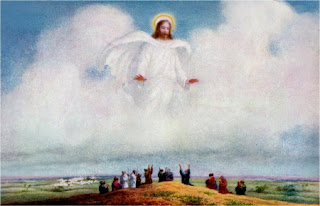The Spirit and Testimony of the Holy Spirit, Jesus Ascending to Heaven Testimony of the Holy Spirit,