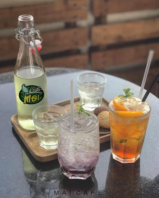 thức uống tại Mai Cafe