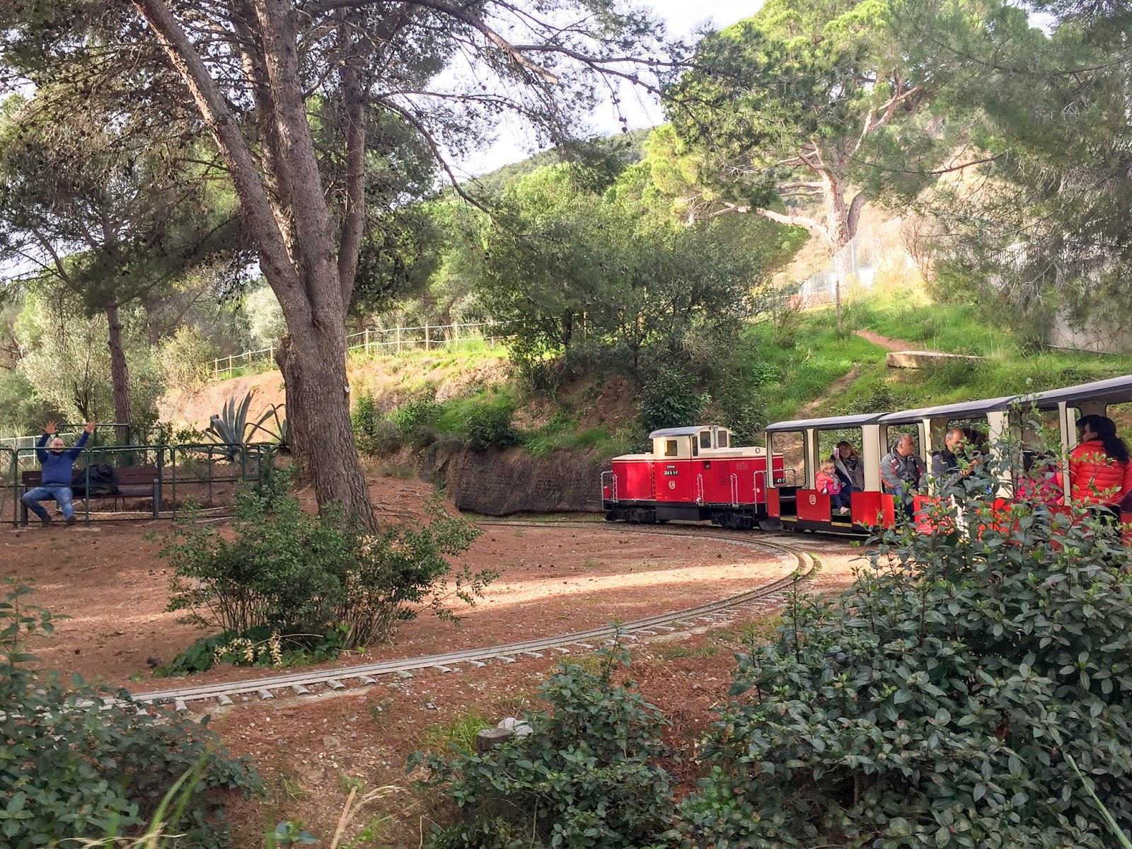 park oreneta pociągi