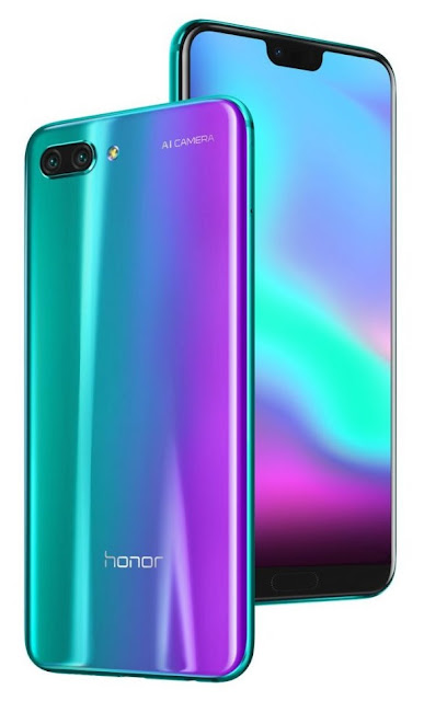 Honor 10 with Kirin 970 unvieled globally
