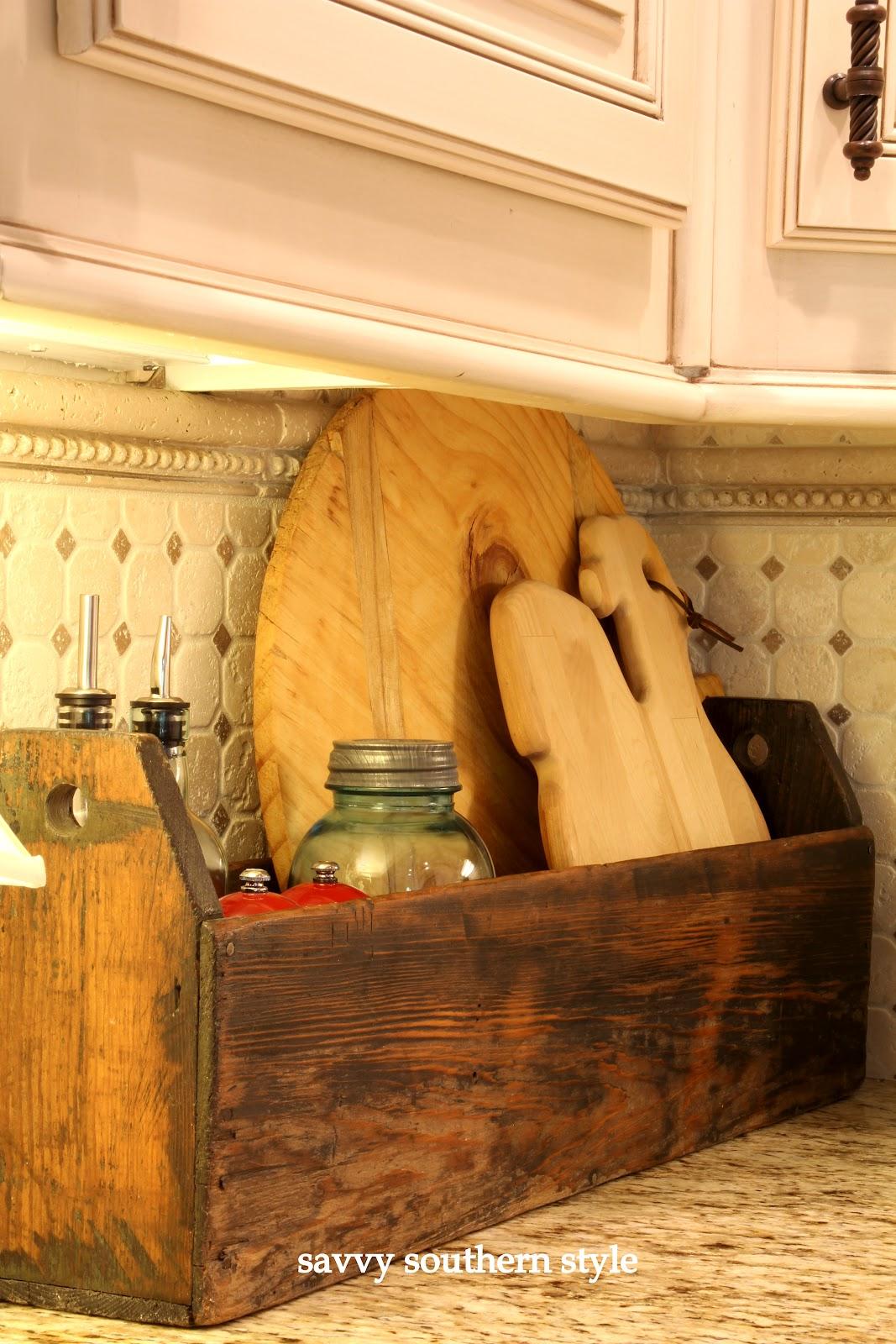 Savvy Southern Style A Kitchen Corner