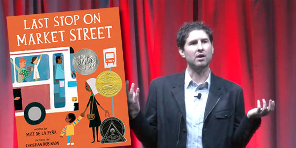 Matt de la Peña, Newbery Medal Winner for Children's Literature