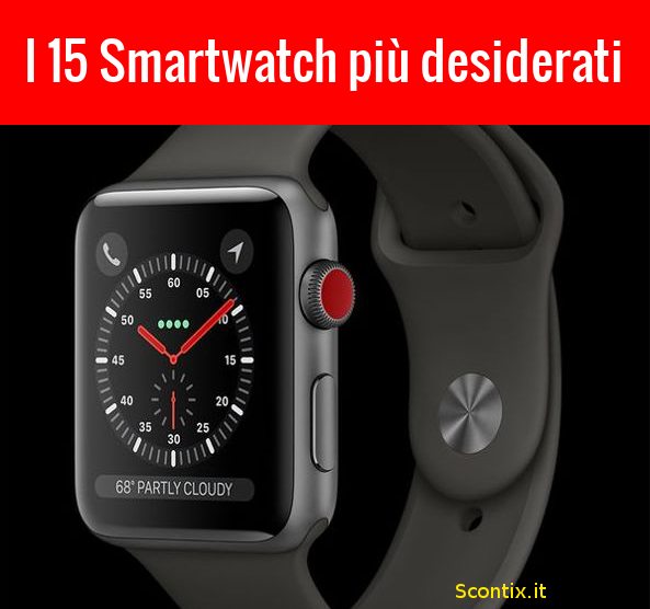 I nuovi Smartwatch più desiderati dagli utenti Amazon
